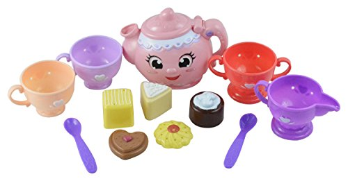 Hoopla Toys Tea Party Kitchen Set Pretend Play Food Toy (12 Piece) (Tea Magical)