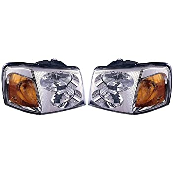 41bnanK6NyL._SL500_AC_SS350_ amazon com gmc envoy headlight oe style replacement headlamp driver