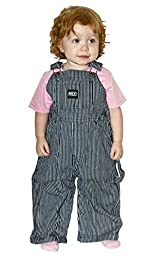 INFANT Hickory Stripe Bib Overall - Sizes 9mo-24mo