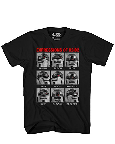 Star Wars Expressions R2 D2 T shirt