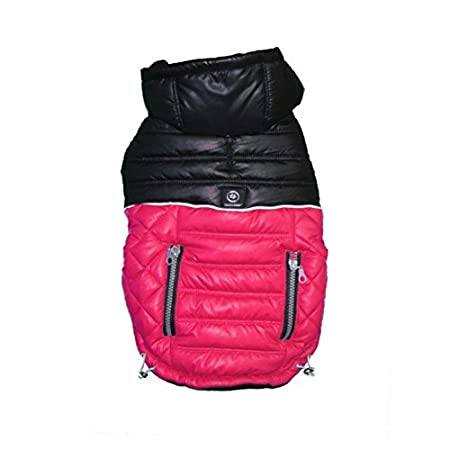 Silver Paw Urban Quilted Puffy Jacket, X-Large, Azalea SAPJ0027