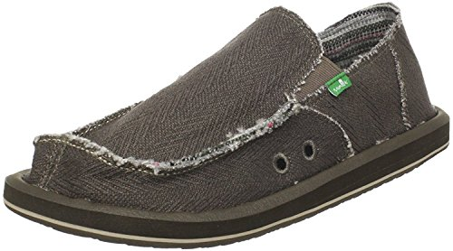 Sanuk Men's Hemp Sidewalk SurferBlack8 M (12 D(M) US / 45 EUR, ()