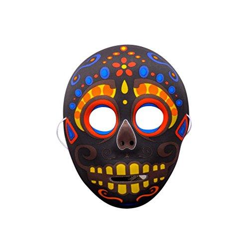 Etopsell Chinese Fashion Peking Opera Culture MaskHalloween Cosplay Costume Mask (6#) (Chinese Opera Mask)