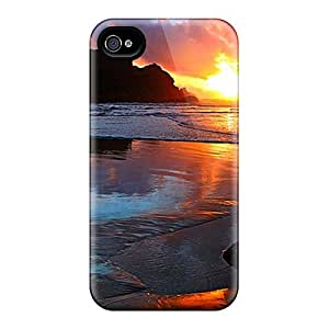 New Arrival Covers Cases With Nice Design For Iphone 6- Golden Sunset At Bay