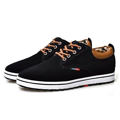 Casual Noir Homme Lacets À Coolcept Chaussures WD2IYbeE9H