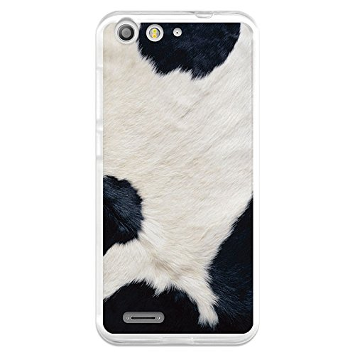 Funda Gel Flexible ZTE Blade V6 BeCool Animal Print Vaca ...