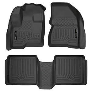 Husky Liners Front & 2nd Seat Floor Liners Fits 09-19 Flex, 10-14 MKT