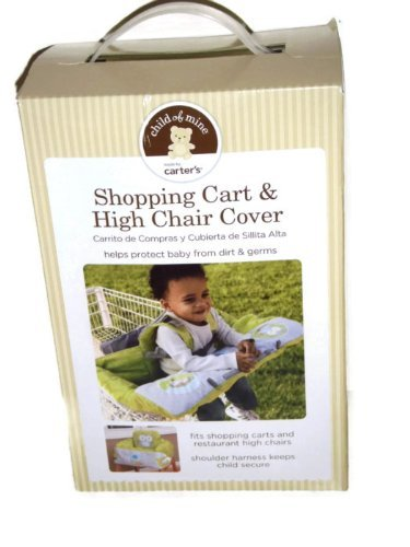 Shopping Cart and High Chair Cover By Carter`s Owl Pattern / Shopping Cart and High Chair Cover By Carter`s Owl Pattern