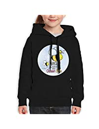 Vintopia Teen Boys Queen Bee - Big Sister Classic Jogging Black Fleece