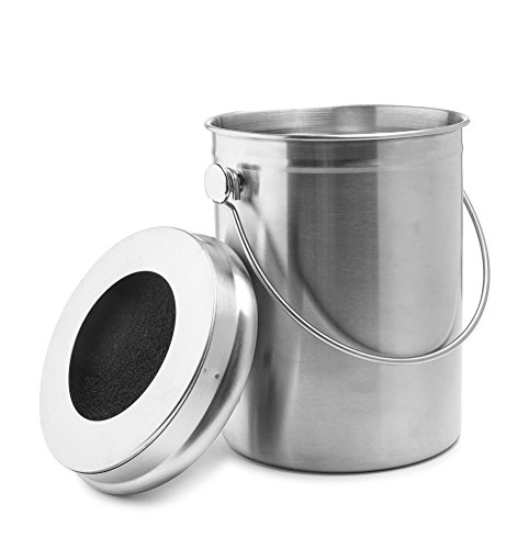 Source Extra Kitchen Scraps For Backyard Flocks: Price Tracking For: Useful. UH-CC202 1.2 Gallon Stainless