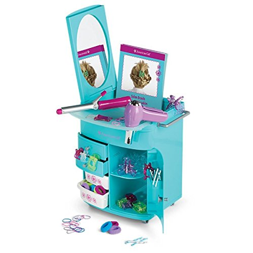 American Girl Truly Blue Hairstyling Caddy for dolls ()
