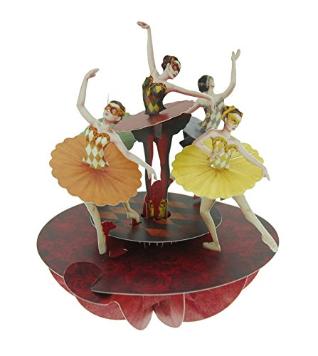 Santoro Pirouettes Ballet Pirouette 3D Pop Up -