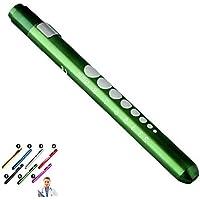 Mini Pen Zaklamp Licht SUPERTOOL Diagnostische Medische Penlight, Mini Herbruikbare LED Penlight Zaklamp Pen Torch voor…