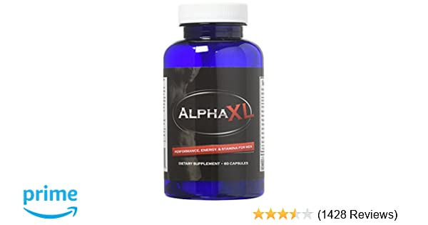 Alpha XL - The #1 Most Potent & Powerful Male Supplement Pills Ideal for  Men with Low T Testosterone