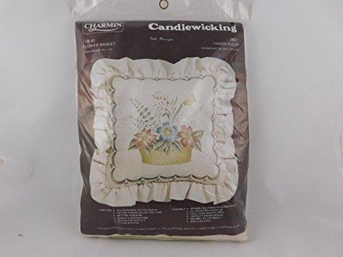 Charmin Candlewicking Flower Basket Pillow Kit ()