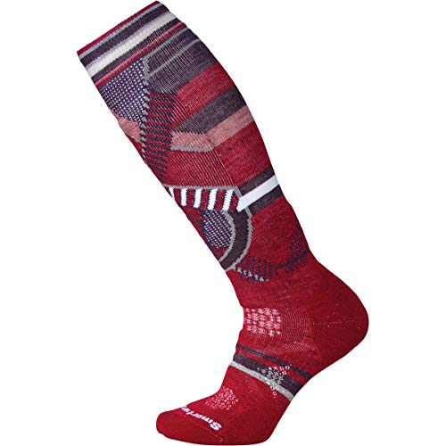 (Smartwool Women's PhD¿ Ski Medium Pattern Tibetan Red Medium)