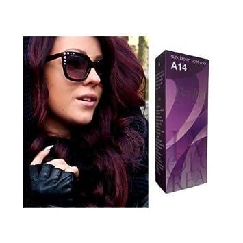 Amazoncom Berina Hair Professional Permanent Hair Color Cream - Hair colour violet brown