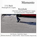 Memento - J. S. Bach & Buxtehude for Two Organs and Three Harpsichords