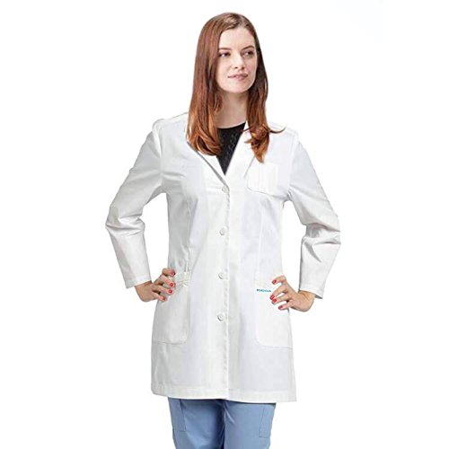 Bordova-Consultation-Lab-Coat-Professional-Doctors-32-Inch-Long-Medical-Uniform-For-Women-Men