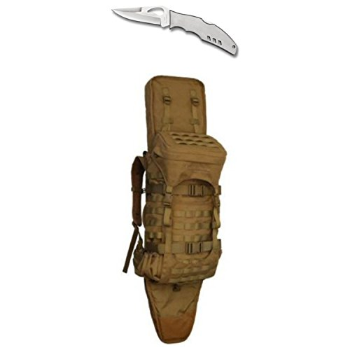 Eberlestock Gunslinger 2 Hunting Pack - Coyote Brown - with Free Spyderco Flight Byrd Knife - Gunslinger Pack