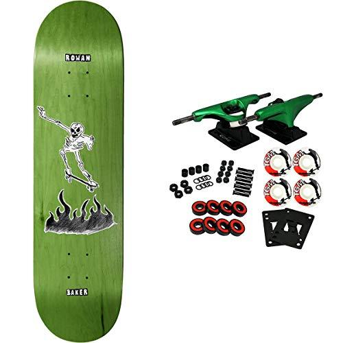 "Baker Skateboard Complete Zorilla Cremation Mayhem 8.5"""