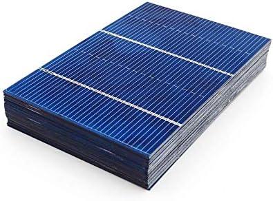 Pannello Solare 50pcs / Lot Mini Batteria del Telefono Fai da Te Caricatore del Pannello Solare Cellule del Sistema Portatile 78x52mm 0.66W ZHQHYQHHX
