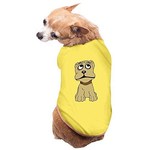 Zac Power Costume (Aip-Yep Best Cute Dog Doggie Costumes Yellow Size M)