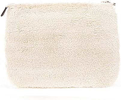 MC2 Saint Barth, Winter Pochette Sherpa Bianco, MC2_PARISIENNE SHRP1R 10OR
