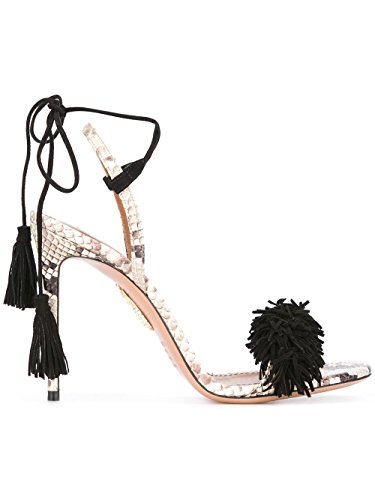 Aquazzura Donna Withigs0ssu9n4 Sandali In Pelle Multicolore