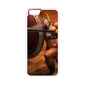 League of Legends(LOL) Pantheon iPhone 6 Plus 5.5 Inch Cell Phone Case White 11A102079