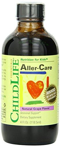 Child Life Aller-Care, Glass Bottle, 4-Ounce