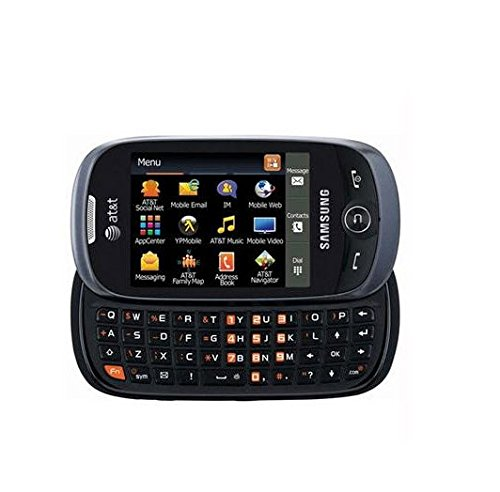 AT&T GoPhone Samsung Flight II A927 3G Touchscreen / QWERTY Slider Phone - Gray Prepaid Go Phone (Att Samsung Go Phone)
