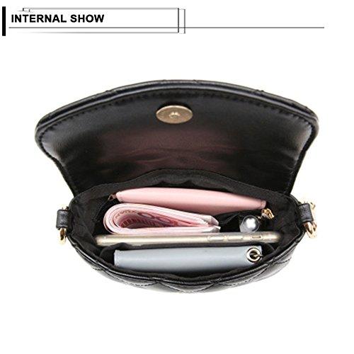 Crocodile Belt for Red Fashion Multifunction Bag Black Leather Waist Veins Women Mini Gift Bag 2 Badiya 5Rq11