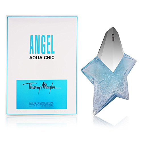 - Thierry Mugler Angel Aqua Chic Light Eau de Toilette Spray for Women, 1.7 Ounce