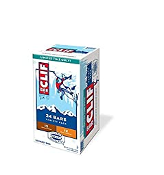 Clif Bar Holiday Variety Pack 24 Energy/Protein 2.4oz Bars (12 Iced Gingerbread, 12 Spiced Pumpkin Pie)