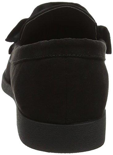 1 Mocassini Kingy Wide black New Foot Look Nero Donna SqZCpSxFw1