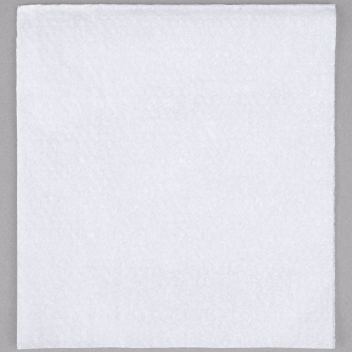 White 1/4 Fold Luncheon Napkin 11'' x 12 1/2'' - 500/Pack by Choice