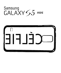 Celfie Inverted Selfie Alone Mobile Cell Phone Case Samsung Galaxy S5 Mini Black