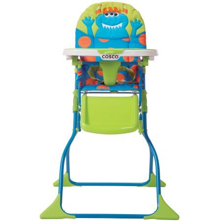 (Simple Fold Deluxe High Chair, Choose Your Character / Monster Syd)