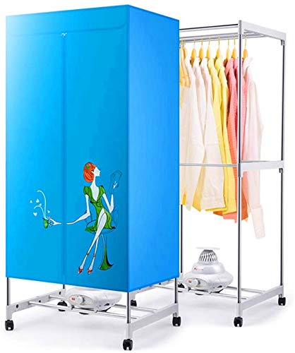 NJOLG Heated Clothes Dryer Dryer Portable Travel Fast Mini Dryer Machine, Portable Dryer for Apartments, New Generation…