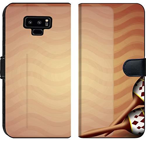 Samsung Galaxy Note 9 Flip Fabric Wallet Case Image ID 29288479 Mexican Maracas