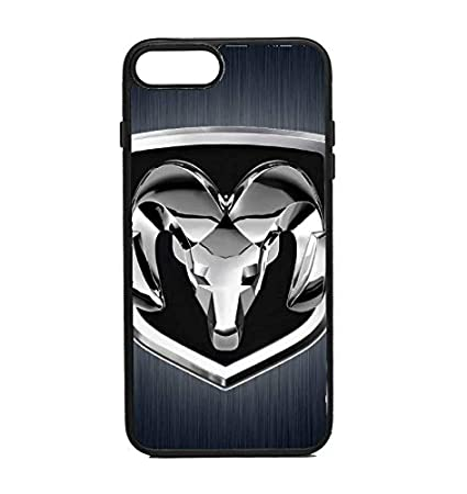 detailed look ac1c7 832bf Amazon.com: Phone Case Dodge Ram Black for iPhone 7 Plus: Cell ...