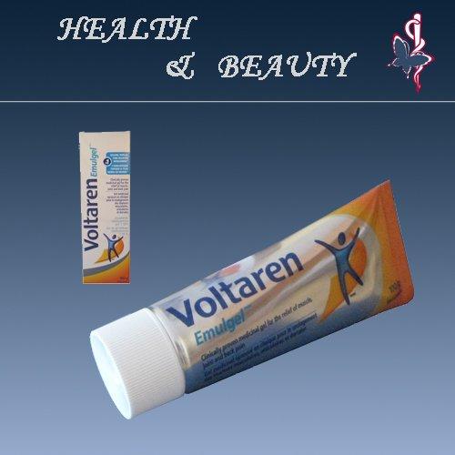 Retour tueur soulagement de la douleur Voltaren Crème 100g 1,16% - Gel Soulagement pour douleurs musculaires et articulaires
