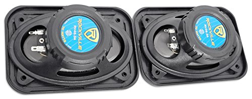 Pair Rockville RV46.3A 4x6'' 3-Way Car Speakers 500 Watts/70 Watts RMS CEA Rated by Rockville (Image #3)
