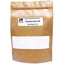 100% Natural ,Pure, White Kaolin KR Cosmetic Grade/ Personal Care Kaolin Clay Fine Powder Made in USA (8oz)