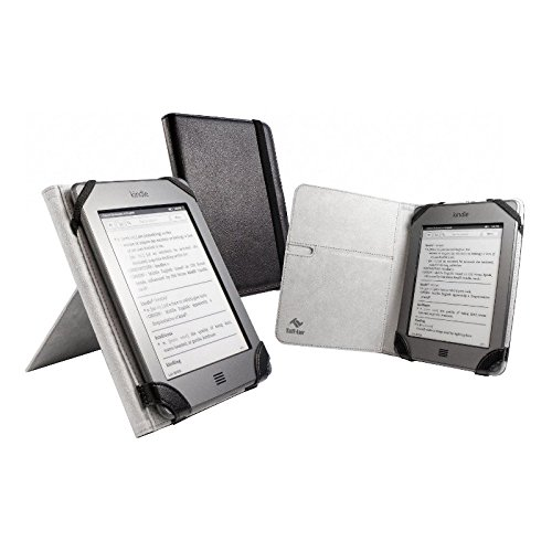 Tuff-Luv 'Book-Stand' case cover for Amazon Kindle Touch / Paperwhite (Book Style) – Black