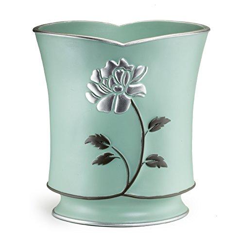 CDM product Popular Bath Waste Basket, Avantie Collection, Aqua big image