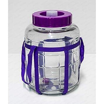 Universelles Glas Weinballon mit Gärsystem Glasballon Einmachtopf 23 L