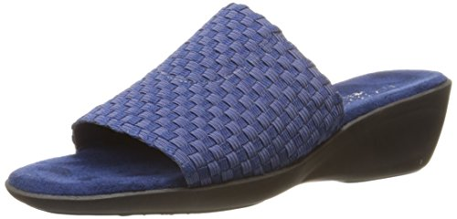 Aerosoles Womens Cake Badder Wedge Sandal Blue sINUf4