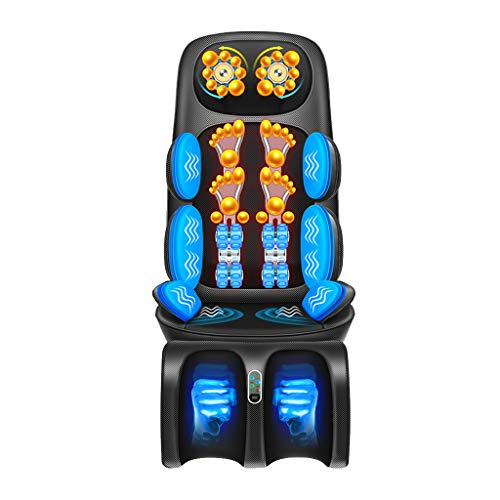 Full Body Electric Massage Cushions Cervical Massager Multi-Function Household Cushions Neck Back Shoulder Waist Leg Massage,wiht Heat Vibrating Functions,for Home Office
